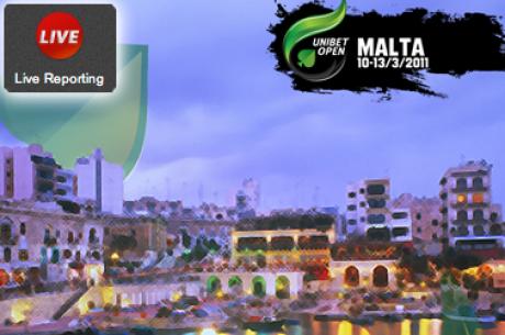 PokerNews live-reporting aanwezig bij de Unibet Open Malta (10 - 13 maart)