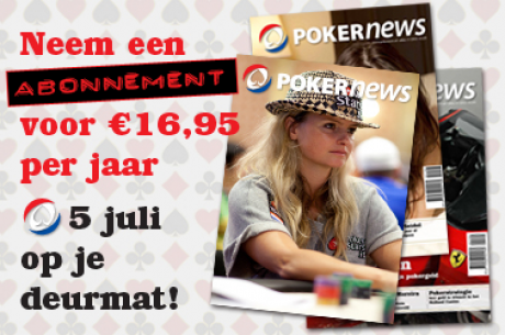 PokerNews Magazine weer in de schappen (nu ook in België)
