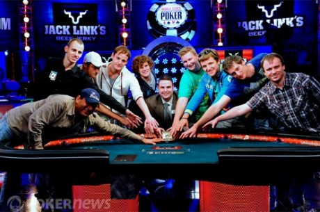 Main Event WSOP 2011 : November Nine