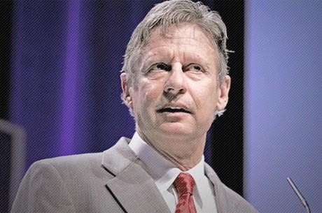 Gary Johnson, le candidat des joueurs de poker ?