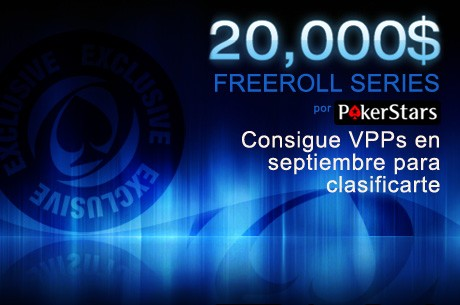 20.000$ Freerolls Series