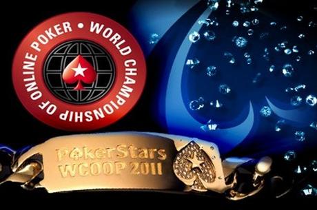 """WCOOP 2011 - Dag 10: Noah """"Exclusive"""" Boeken pakt gouden bracelet"""