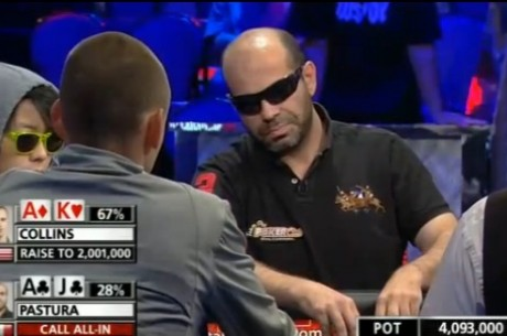 World Series of Poker Main Event - De top 100 wordt bereikt!