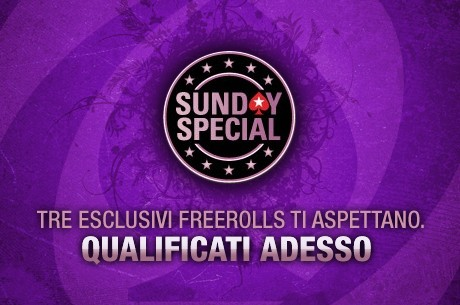 freeroll sunday special