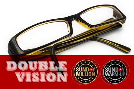 Double Vision Sunday na PokerStars: o dobro da acção