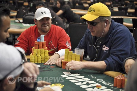 World Series of Poker Circuit Hammond Main Event Day 2: Crain Leads Final 20