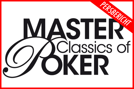 Persbericht: Jubileumjaar Master Classics of Poker