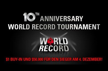 Weltrekord Poker Turnier auf PokerStars