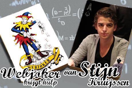 Webjoker krijgt hulp van Stijn Kruijssen: twee handen van de WSOP finaletafel