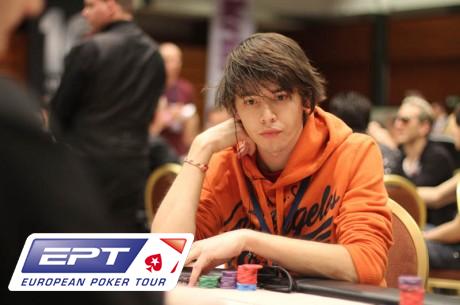 PokerStars.com EPT Praag: debutanten Van der Reijnst en Van Belzen aan de leiding