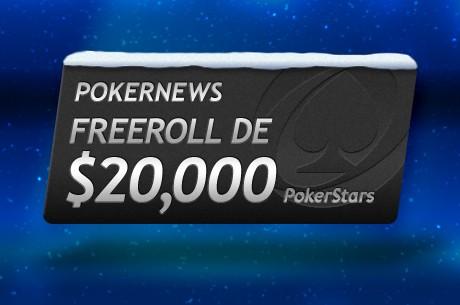 $20,000 no PokerNews PokerStars Freeroll para ganhares