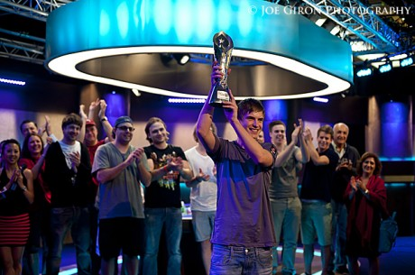 2012 PokerStars Caribbean Adventure Super High Roller Day 3: Viktor Blom Hoists His First Trophy
