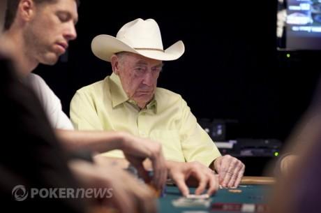 PokerNews Boulevard: Doyle Brunson beschermt Lederer en Ferguson