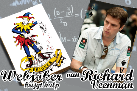 Webjoker krijgt hulp van Richard Veenman: river check in limit hold'em