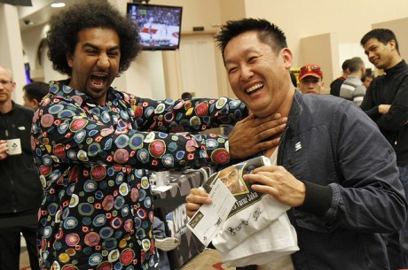 2012 World Poker Tour Bay 101 Shooting Star Day 1a: Only Five Shooting Stars Survive