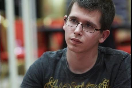 Nicolas Beker, líder del Día 1A del France Poker Series SnowFest Evian 2012