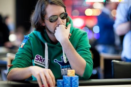 PokerStars.com EPT Campione: De Visscher aan de finaletafel, Soulier chipleader