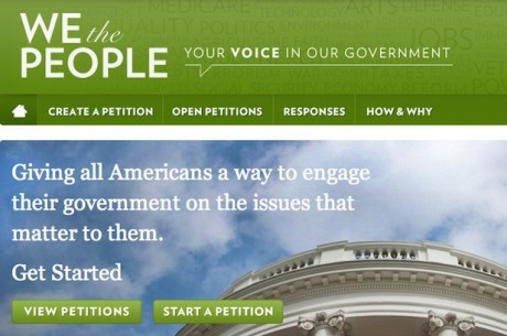 "White House Responds to ""We The People"" Petition on Online Poker"