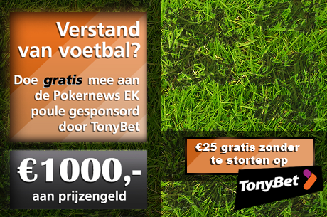 Doe mee met de PokerNews' EK Poule en maak kans op 1.000!