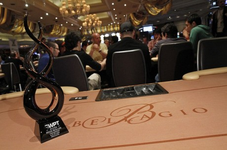 WPT Super High Roller trophy