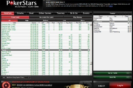 Phisherman36 arrasa en las mesas de high stakes de PokerStars