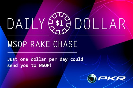 Daily Dollar WSOP Rake Race