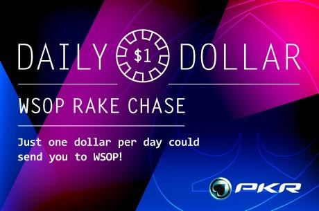 LeoBigSlick7 Wins PKR Daily Dollar WSOP Rake Chase