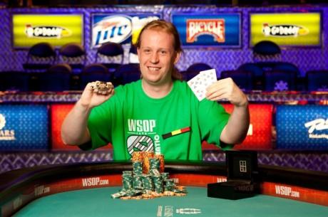 WSOP Boulevard: Belg Michael Gathy wint gouden bracelet & Ivey chipleader Event #24