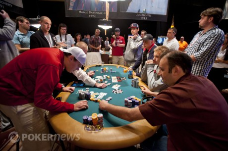 Controversial Poker Hand Highlights Day 2 of $50,000 Poker Players Championship
