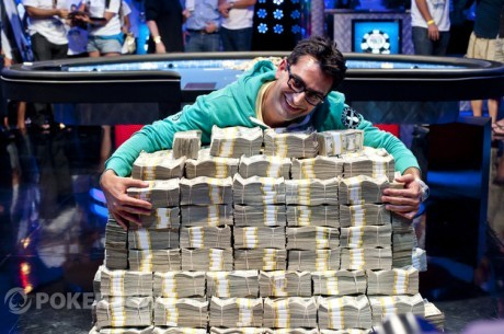 WSOP Big One for One Drop - Antonio &quot;The Magician&quot; Esfandiari wint $18,3 miljoen!