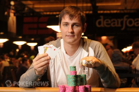 2012 World Series of Poker Day 41: Viacheslav Zhukov and Greg Merson Win Bracelets