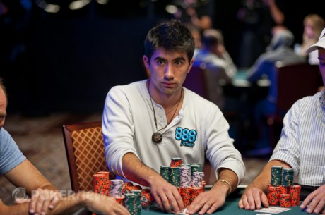 Jesse Sylvia, 2012 World Series of Poker Main Event Final Table Chip Leader