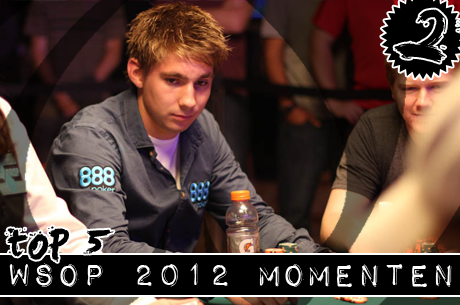 PokerNews WSOP 2012 TOP 5 | Nummer 2: Niels van Aphen beste Nederlander in het Main Event