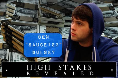 """High Stakes Revealed - Ben """"Sauce123"""" Sulsky passeert de grens van 3 miljoen winnings voor 2012"""