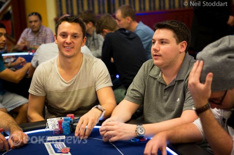2012 PokerStars.com EPT Sanremo Main Event Day 1b: Trickett Emerges as Day 1b Chip Leader