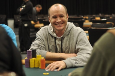 2012-13 World Series of Poker Circuit Horseshoe Hammond Day 1a: Mike Leah Leads