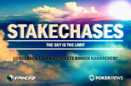 Nog één dag om toernooitickets te winnen in de PKR StakeChases promotie!