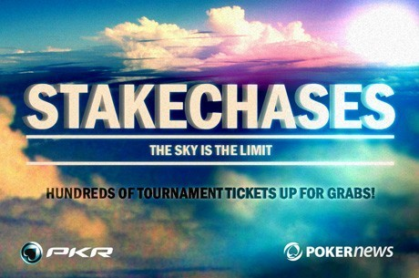 Earn $250 in Tournament Tickets in the PokerNews-Exclusive PKR StakeChases