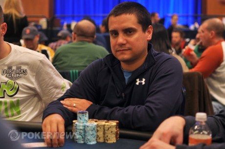 DeepStacks Poker Tour Mohegan Sun National Championship Day 1: David Stefanski Leads