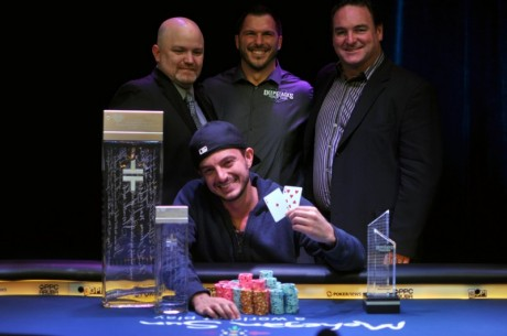Artyem Perlov Wins The 2012 DeepStacks Poker Tour Mohegan Sun National Championship