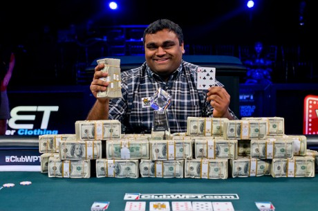 Ravi Raghavan Wins WPT Five Diamond World Poker Classic