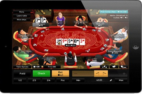 PKR Launches iPad Poker App
