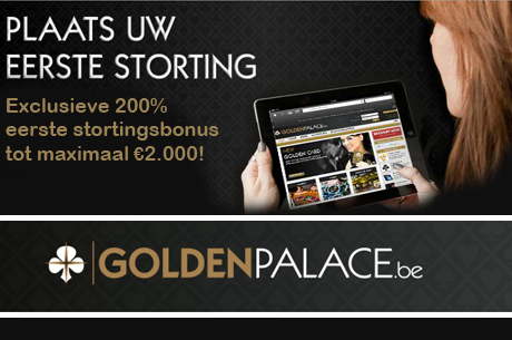 250% tot €2.000 First Deposit Bonus én €5 gratis op GoldenPalace.be