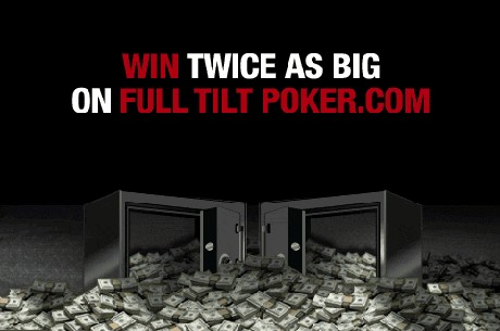 Win Your Share of More Than $5 Million in Double Guarantees Week on Full Tilt Poker