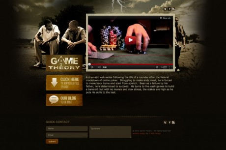 Director Aidin Nakhai Talks About Web-Based Game Theory TV