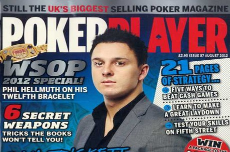 The front cover of  PokerPlayer magazine.