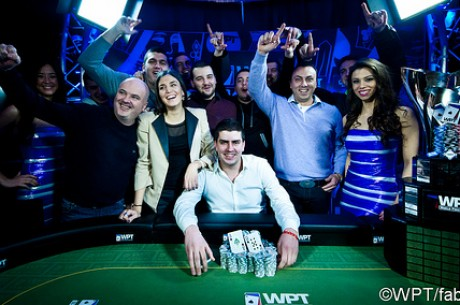 Vladimir Bozinovic Wins World Poker Tour Baden for $271,258