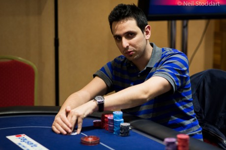 2013 PokerStars.com EPT London Main Event Day 1b: Sergio Aido Leads
