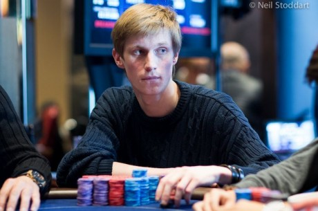 2013 PokerStars.com EPT London Main Event Day 2: Mantas Visockis Leads