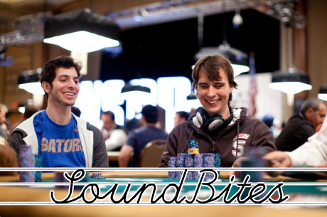 [SoundBites] Vincent van der Fluit haalt finaletafel $1.500 PLO